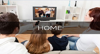 Set top box home application
