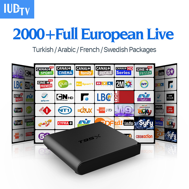 T95X IPTV 2000 Full Channel European Live
